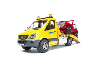 Bruder 1:16 Mercedes Benz Sprinter with Cross Country Vehicle
