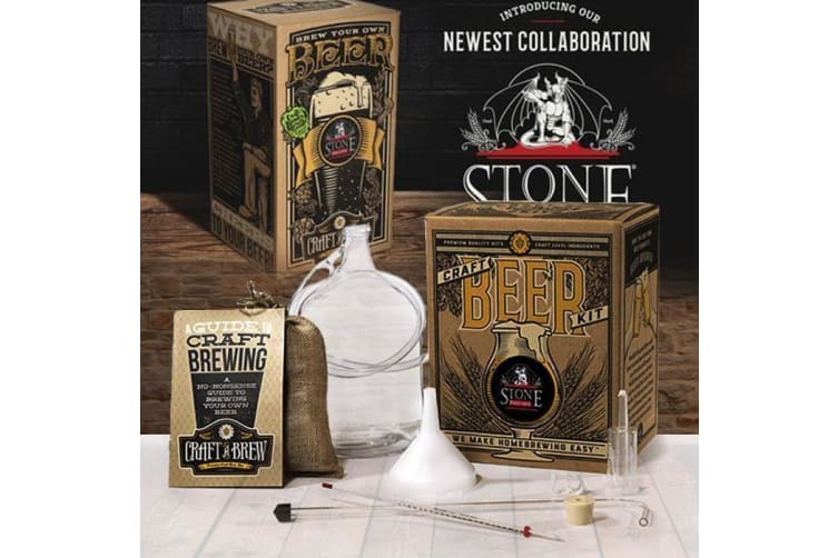 Stone Pale Ale Premium Craft Beer Brewing Kit   Craft-a-Brew