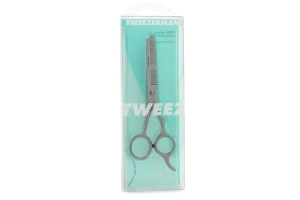 Tweezerman Stainless 2000 Thinning Shears (High Performance Shears for Thinning Thick Hair) (-)