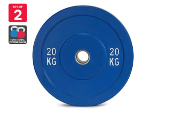 Set of 2 Fortis Bumper Plate (20KG)