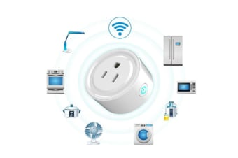 WiFi Smart Plug Compatible with Amazon Alexa and Google Assistant, Smart Plug Mini Wi-Fi Enabled, Remote Control your Devices from Anywhere 60