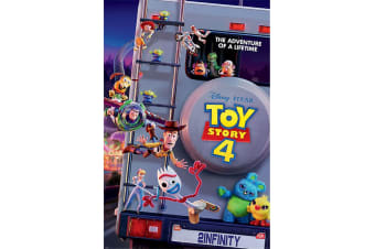 Toy Story 4 Movie Poster (Multicoloured) (61cm x 91.5cm)