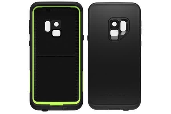 premium selection c28bc 48fa9 Lifeproof Galaxy S9 Fre Case - Black Lime