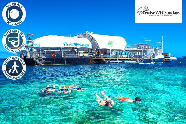 GREAT BARRIER REEF: 2 Day Reef Sleep Experience for Two