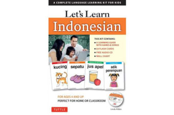 Let's Learn Indonesian - A Complete Language Learning Kit for Kids