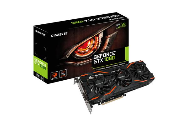 Gigabyte Windforce GeForce GTX1080 8GB GDDR5 PCI-E Graphics Card