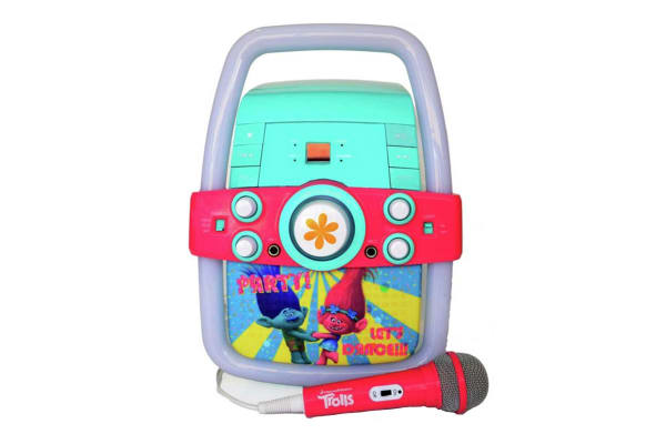 Trolls Disco Party Karaoke Machine