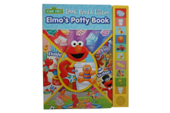Look, Find & Listen Elmo's Potty Book