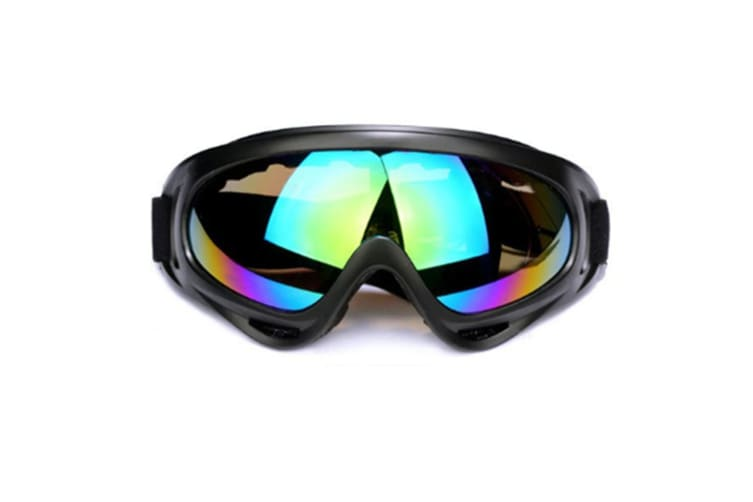 Ski Goggles  Snowboard Goggleswith 100% UV400 Protection,Wind Resistance, Anti-Glare Lens Coloredlens