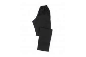 Alexandra Mens Chefs Trousers (Jet Black) (2XL)