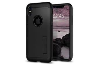 Spigen iPhone X Slim Armor Case Black