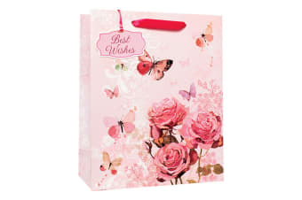Simon Elvin Floral Female Standard Large Gift Bags (Pack Of 6) (Multicoloured) (One Size)