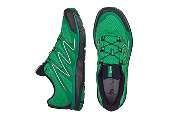 Salomon Men's X-Pearl (Green/Green/Evergreen, Size 8.5)