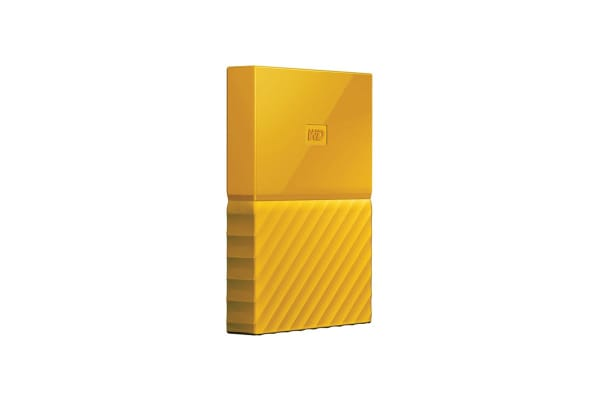 WD My Passport 1TB USB 3.0 Portable Hard Drive - Yellow (WDBYNN0010BYL-WESN)