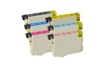 T0491-T0496 Compatible Inkjet Cartridge Set  6 Ink Cartridges