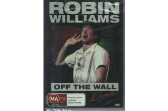 ROBIN WILLIAMS - Off The Wall Live Comedy -  -Comedy Rare- Aus Stock Preowned DVD: DISC LIKE NEW