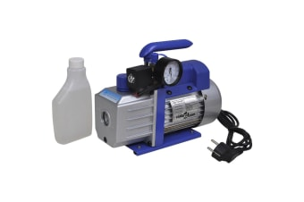 vidaXL Single-stage Vacuum Pump with Pressure Gauge 71 L / min