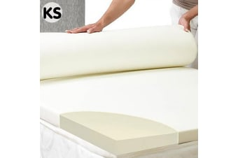Laura Hill High Density Mattress foam Topper 7cm - King Single