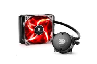 Deepcool Maelstrom 120T Liquid Cooling System - Red