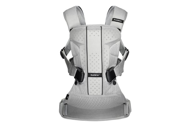 BabyBjorn Baby Carrier - One (Silver Mesh)