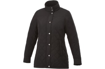 Slazenger Womens/Ladies Stance Insulated Jacket (Solid Black) (L)