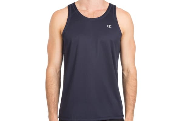 Champion Men's Double Dry Training Tank - Navy (Size S)