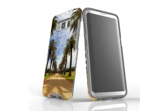 For Samsung Galaxy S8 Case Armour Cover  Palm Walkway Path