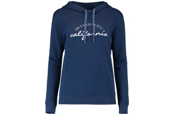 ONeill Womens/Ladies Sports Over The Head Graphic Hoodie (Atlantic Blue)