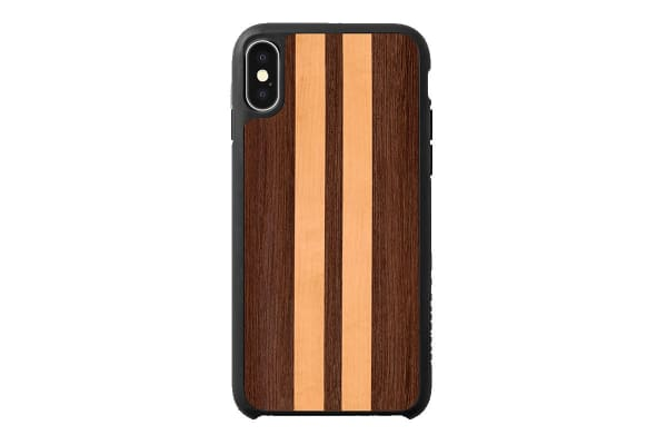 Recover iPhone X/Xs Case - Wenge & Maple Stripe (REC040)
