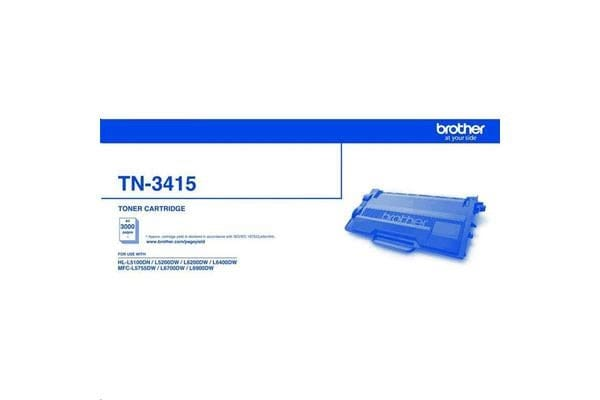 Brother Toner TN3415 Black 3000 pages