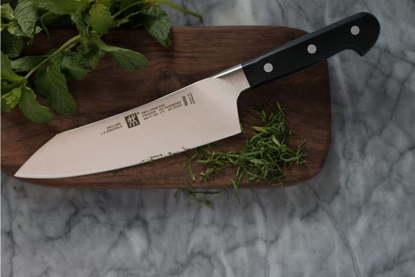 "Zwilling Henckels Pro 7"" Rocking Santoku Knife"