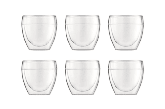 Bodum Pavina Outdoor Double Wall Tumbler 250ml Set of 6