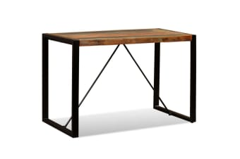 vidaXL Dining Table Solid Reclaimed Wood 120 cm