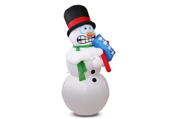 Jingle Jollys Inflatable Shaking Snowman