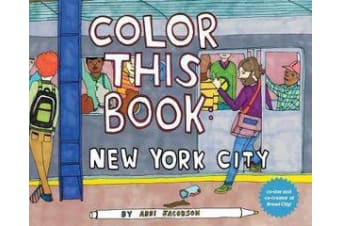 Color this Book - New York City