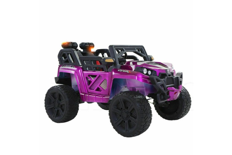 Kids Electric Ride on Jeep Toys Bopeep Car Off Road w/ Built-in Songs Remote 12V