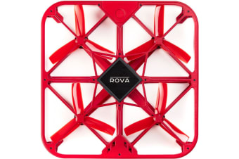 ROVA A10 Red Flying Selfie Drone FHD Video Camera for Smartphones