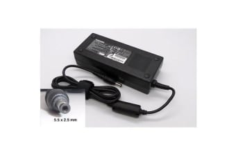 Toshiba OEM Notebook AC Power Adapter/Charger, 19V 6.32A 120W (5.5x2.5mm)