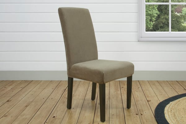 SureFit Pearson Dining Chair Cover - Taupe