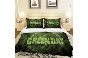 3D Rock Band Green Day Quilt Cover Set Bedding Set Pillowcases 48