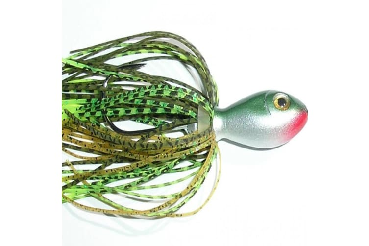 TT Lures Vortex Spinnerbaits 1/8oz - V13 Olive Chartreuse Scale