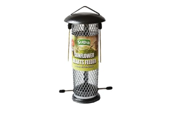 Supa Metal Sunflower Hearts Bird Feeder (May Vary) (One Size)