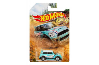 Hot Wheels Backroad Rally Mini Cooper S Challenge Diecast Car