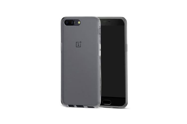 OnePlus 5 Slim Bumper Case (Clear)
