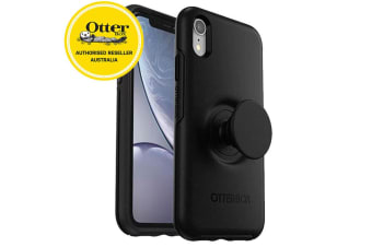 OtterBox Pop Holder Symmetry Case/Cover Drop Proof for iPhone XR Black