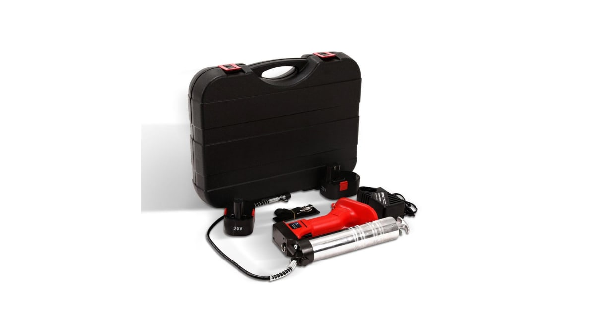 Electric Grease Gun >> Grease Gun Cordless Battery 20v Electric Rechargeable Industrial 450g Power Generator