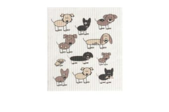 Retro Kitchen Swedish Dish Cloth Dogs