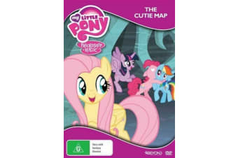 My Little Pony: Friendship is Magic - The Cutie Map - DVD - NEW Region 4