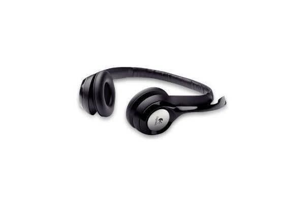 LOGITECH H390 STEREO USB HEADSET (R) USB PC Headset w/noise-cancelling microphone in-line volume and mute controls. 2 Years Limited Warranty