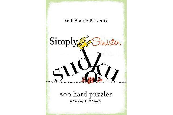 Simply Sinister Sudoku - 200 Hard Puzzles